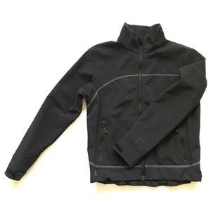 Columbia Titanium Black Softshell Omnitech Jacket